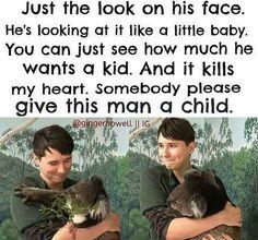 I'd have a kid with him!<<LOL BUT MOST OF US ARE UNDERAGE AF *criEs*