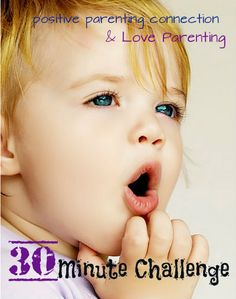 30 Minute Challenge: Learning to just BE with your children