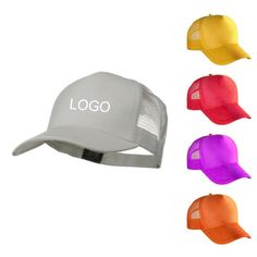 The 5 panel mesh cap with plastic adjustable snal tab closure ae5c45c01301