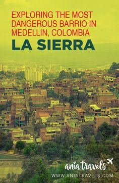 The most dangerous barrio in Medellin, La Sierra, has changed a lot since but it still holds a stigma and is not visited by many tourists. Here is my experience doing a tour through this neighborhood with La Sierra tours. Colombia Travel, Brazil Travel, Argentina Travel, South America Destinations, South America Travel, Travel Destinations, Machu Picchu, Bolivia, Ecuador