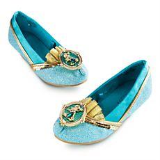 Jasmine Costume Shoes for Girls