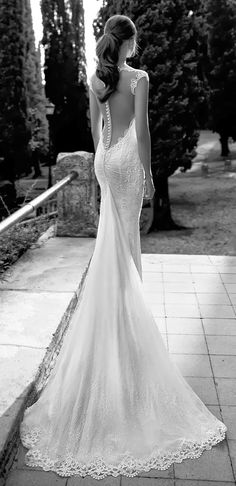 Loving the back of this gown