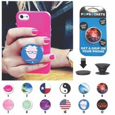 Pop-Socket-Holder-Popsocket-Single-Universal-Expanding-Stand-Grip-Phone-iPhone
