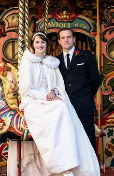 Barbara and Tom pull off their last-minute wedding in Call The Midwife Charlotte Ritchie, Last Minute Wedding, Call The Midwife, Wedding Scene, How To Look Handsome, Period Dramas, Costumes For Women, Favorite Tv Shows, Actors & Actresses