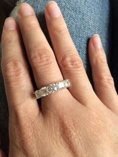 Learn about Anita's custom 5-stone diamond ring.
