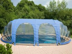 Source Swimming pool mobile roof 8,90 x 4,90 m on m.alibaba.com