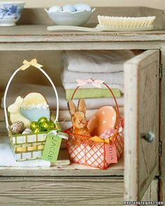 Decorated Berry Baskets How-To