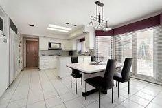 Image result for white tile floors