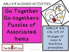 Go together go-togethers!