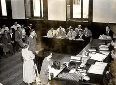 Jürgen Stroop's trial, Warsaw Criminal District Court, July 1951. On 23 July 1951, the Court sentenced Stroop to death by hanging. Stroop was hanged at Mokotów Prison on 6 March 1952.