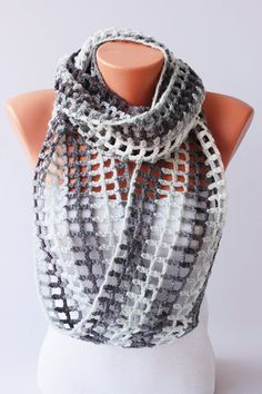 Image result for crochet infinity scarf 200g