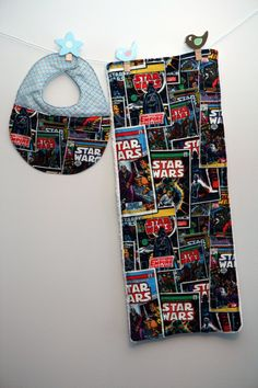 Hey, I found this really awesome Etsy listing at https://www.etsy.com/listing/120782803/baby-bib-and-burp-cloth-set-star-wars