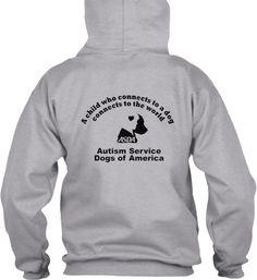 ASDA LightItUpBlue ForAutism Hoody #autism #awareness #asda #servicedogs #hoody #lightitupblue #liub