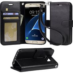 Galaxy s7 Case, Arae [Wrist Strap] Flip Folio [Kickstand Feature] PU leather wallet case with ID&Credit Card Pockets For Samsung Galaxy S7 (black)  http://topcellulardeals.com/product/galaxy-s7-case-arae-wrist-strap-flip-folio-kickstand-feature-pu-leather-wallet-case-with-idcredit-card-pockets-for-samsung-galaxy-s7/?attribute_pa_color=black  Specially Designed Case for Galaxy S7 2016 Easy access To All Buttons,Camera,speaker and connector.Allows Charging without removing