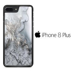 Marble Crystal Silver Style iPhone 8 Plus Case Silver Style, Iphone 8 Plus, Printer, Marble, Phone Cases, Crystals, Printers, Granite, Crystal