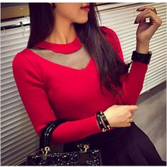 Material Composition: PolyesterMaterial: PolyesterTechnics: Flat KnittedCollar: O-NeckSleeve Length(