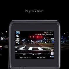 ZEEPIN DAB211 Hidden Dash Cam 2.31-inch ADAS GPS HDR 1440P Car Driving Recorder