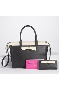 kate spade new york 'hancock park - jeanne' leather satchel, medium | Nordstrom