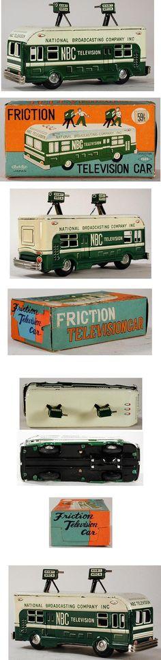 c.1958 Asahai, NBC Television Car in Original Box