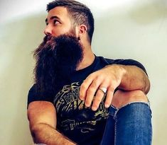 Long Hairstyles For Men Are Quite Sexy Great Beards, Awesome Beards, Long Beard Styles, Long Hair Styles, Mens Hairstyle Images, Mens Facial, Long Beards, Beard Love, Bearded Men