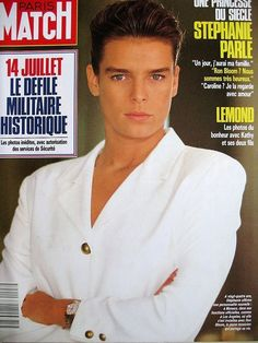 Paris Match N° 2097 Stephanie Monaco Bettina Rheims Attentat DC 10 Equateur 1989 | eBay