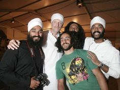 The London Singhs letting their hair down! ;)