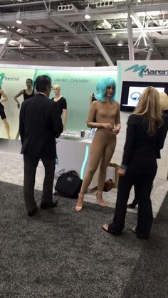 Doctors are loving our live models at ASPS Boston
