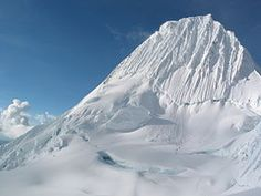 ALPAMAYO [Cordillera Blanca, Peru] - 5,947m (19,511ft) This is on my top 5 list. What a gorgeous mountain!