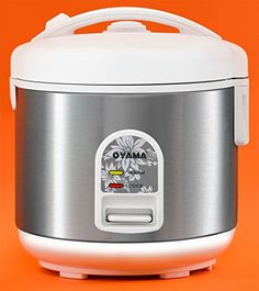 Oyama 5 Cup Rice Cooker, Stainless White * Read more details by clicking on the image. Small Appliances, Kitchen Appliances, Chronic Fatigue Symptoms, Rice Cooker, Stainless Steel, Cooking, Imagination, Image, Check