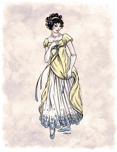 Lady Cecilia Fifield in Colour by Shakoriel.deviantart.com on @deviantART