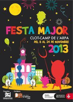 Festa Major del barri del Clot-Camp de l'Arpa a Barcelona (novembre 2013)