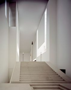 The Novy Dvur monastery by British architect John Pawson. In this cistercian monastery  form, function and atmosphere all come together perfectly. Beautiful restraines material palette and excelent use of daylight.