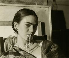 Frida Kahlo by Lucienne Bloch, 1933.