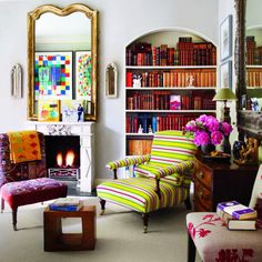 Bookcase Styling Ideas You Can Steal From the Glossy Pages: Done right, a well-styled bookcase conveys personality and warmth.