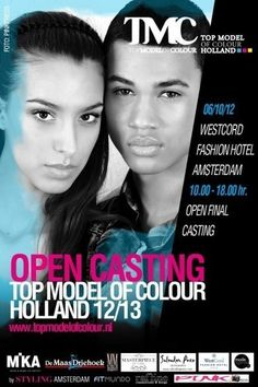 The Search For Top Model Of Colour Holland 2012-2013 : by Styling Amsterdam | By Styling Amsterdam Fashion Designers Models Trendsetters Daily Notes Agenda Guide Style Trends Magazine Calendar Planner News Fashion days and deals Celebrity styles | Scoop.it