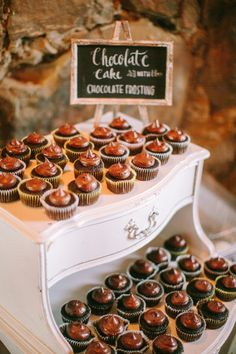 #cupcakes Photography by daniellecapitophotography.com  Read more - http://www.stylemepretty.com/2013/08/06/santa-margarita-ranch-wedding-from-danielle-capito-photography/