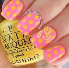 Lemonade Nails ☼☆╮