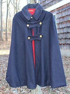 Vintage 1940s Era Nurse's Cape