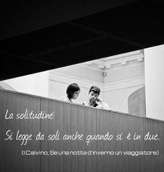 La Solitudine: por Italo Calvino