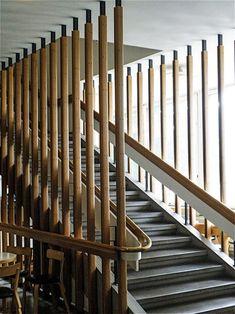 Alvar Aalto, OtaniemiTechnical University Auditorium, Espoo, Finland, 1953-66. / Blogspot