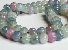 Multi Sapphire Beads  Multi Sapphire Watermelon by gemsforjewels