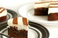 cherry-fudge brownie torte