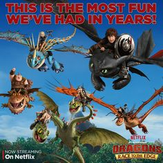 """The dragon riders are on the search for new lands and dragons! Check out what happens when the riders actually find them in the """"Imperfect Harmony"""" episode on Netflix."""