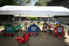 Thomas The Train Birthday Party!!!! Yes I have to do this next yr