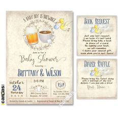 How to Make Coed Baby Shower Invitations Free beauteous appearance