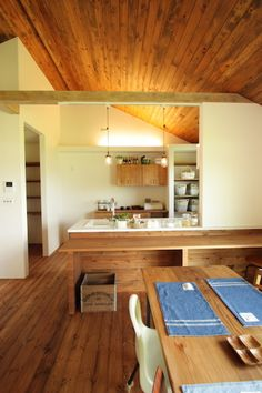 Japanese Kitchen, Japanese House, Interior Architecture, Interior Design, Japanese Interior, Home Look, Home Kitchens, Kitchen Dining, My House