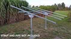Ground Mount Solar Panel Racking Kit (6 Panel Kit)