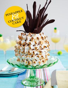 We bet you've never seen a pineapple cake like this before... Bake this showstopping PINEAPPLE AND COCONUT CAKE to impress friends and family!