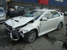 2013 MITSUBISHI LANCER EVOLUTION THIS IS A SALVAGE REPAIRABLE VEHICLE WITH DAMAGE TO THE FRONT END. THE VEHICLE RUNS , DRIVES AND IS AWD. For more information and immediate assistance, please call +1-718-991-8888