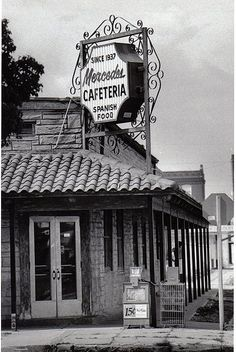 Mercedes Cafeteria in Ybor City, Tampa; 1978